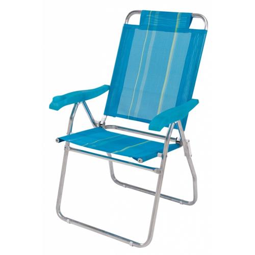 Cadeira de Praia Reclinável Alumínio 3 Posições Boreal - Mor