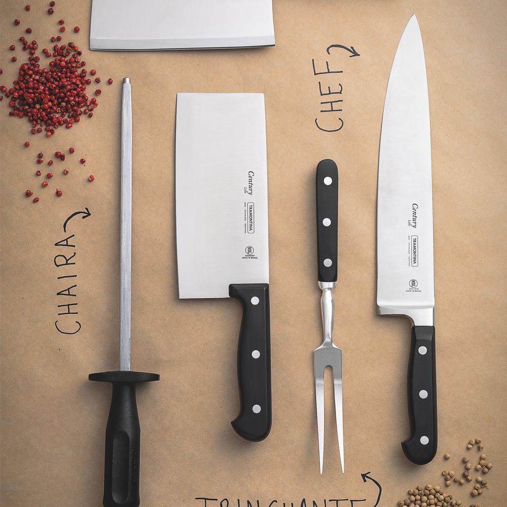 "Faca Chef Century 10"" - Tramontina"
