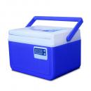 Caixa Térmica Azul c/ Termômetro Digital Alça Superior 5 Litros - Coleman
