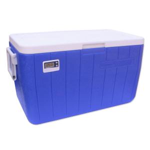 Caixa Térmica Azul c/ Termômetro Digital 45 Litros - Coleman