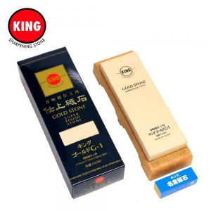 Pedra Acabamento com Base Gold Super Finish Stone #8000 - King