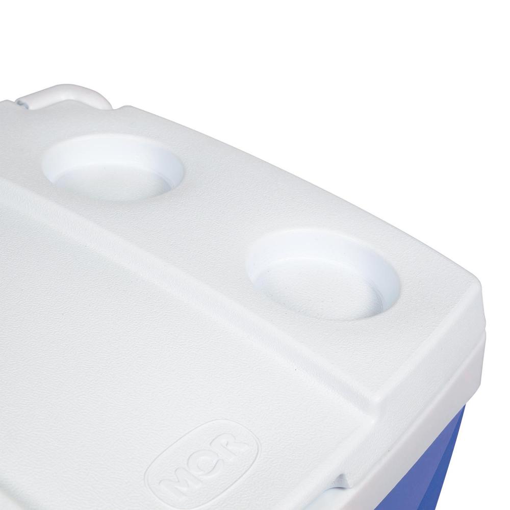 Caixa Térmica 42 Litros c/ Rodas e Alça Telescópica - Mor