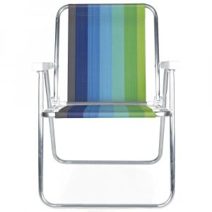 Cadeira de Praia Alumínio Alta - Mor