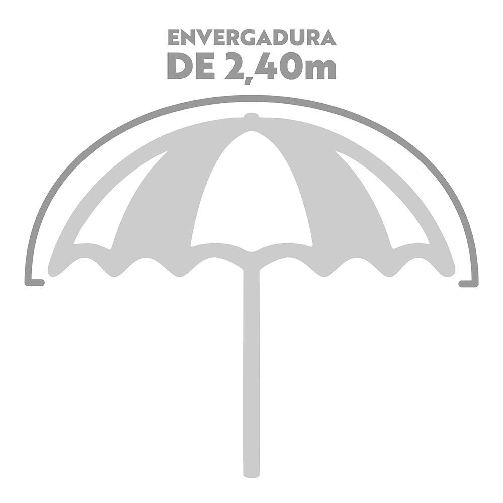 Guarda-Sol Mor - Alumínio Articulável Ø2,4 m
