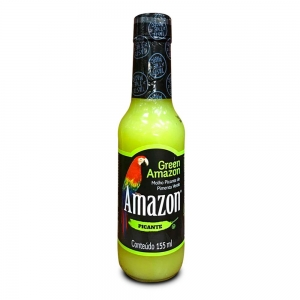 Amazon - Molho de Pimenta Verde Green Amazon 155 ml