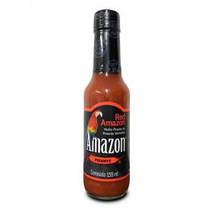 Amazon - Molho de Pimenta Vermelha Red Amazon 155 ml