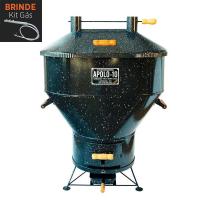 Churrasqueira Apolo 10 Esmaltada a Gás ou Carvão - Weber
