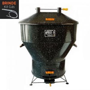 Churrasqueira Apolo 11 Esmaltada Gás ou Carvão - Weber