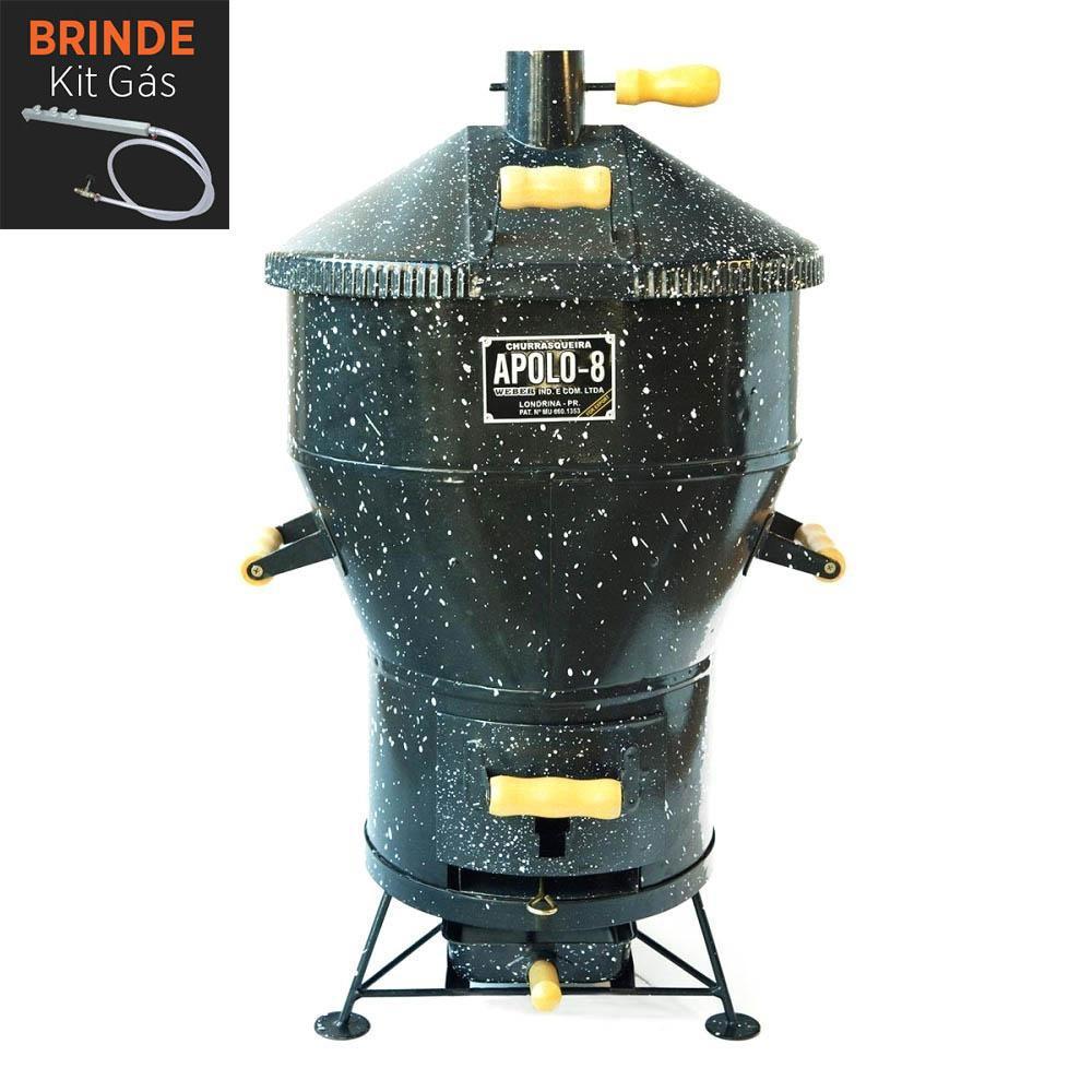 Churrasqueira Apolo 8 Esmaltada Gás ou Carvão - Weber