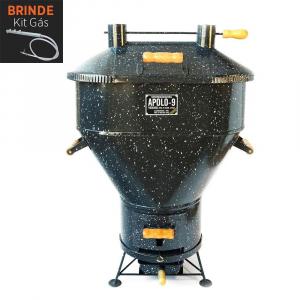 Churrasqueira Apolo 9 Esmaltada Gás ou Carvão - Weber