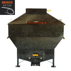 Churrasqueira Apolo Industrial Esmaltada Gás ou Carvão - Weber