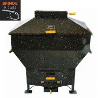 Churrasqueira Apolo Mini Industrial Esmaltada Gás ou Carvão - Weber
