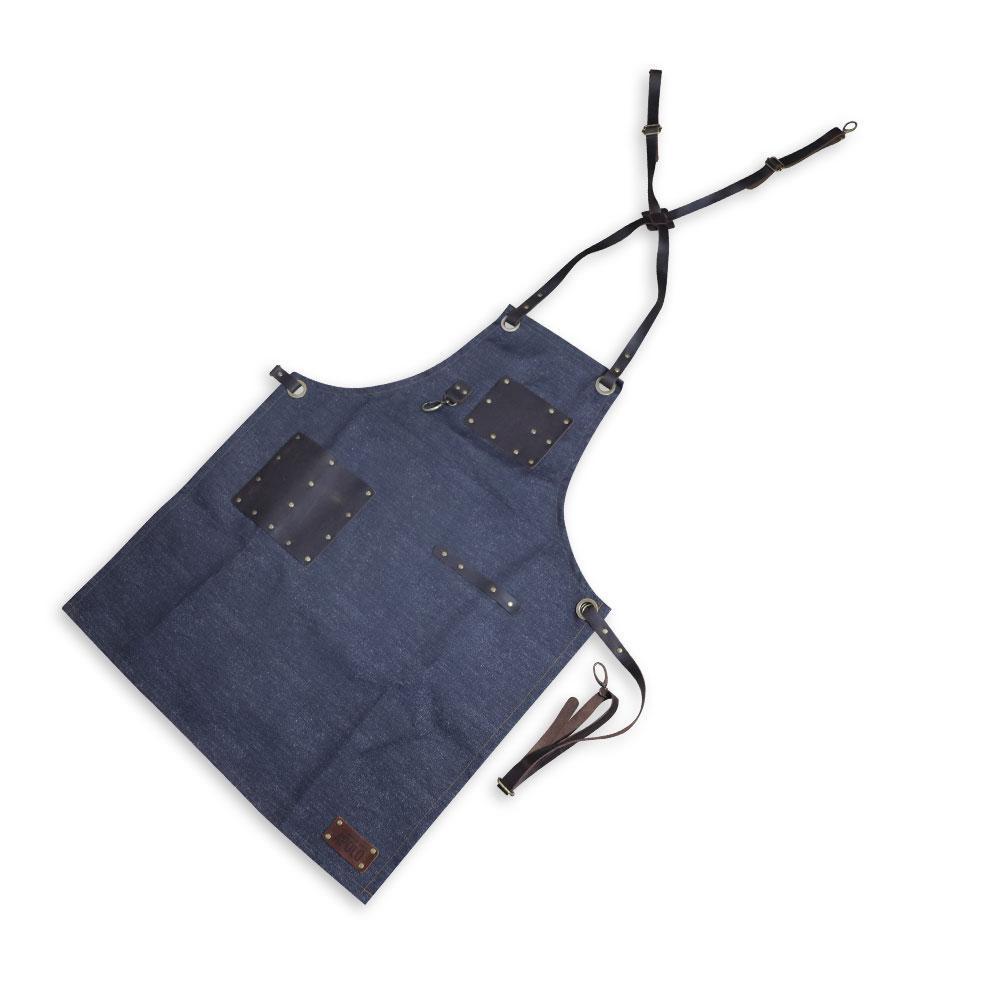 Avental Churrasco Tecido Jeans - Apolo