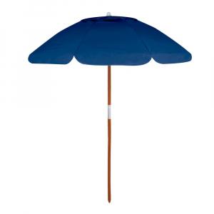 Guarda-Sol Bagum Haste Madeira Azul Marinho Ø1,8 m - Mor