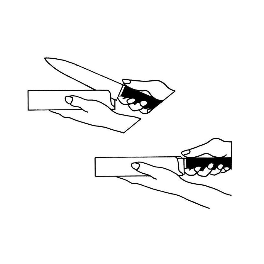 """Protetor para Facas 10"""" Largo (Faca Chef) - Zwilling"""