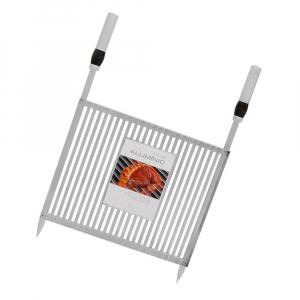Grelha para Churrasqueira Bandeja Especial 50 x 40 cm Alumínio - Grilazer