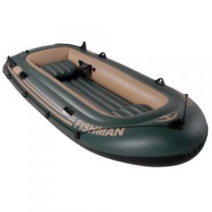 Barco Inflável Fishman 350 com Remos e Inflador - Mor