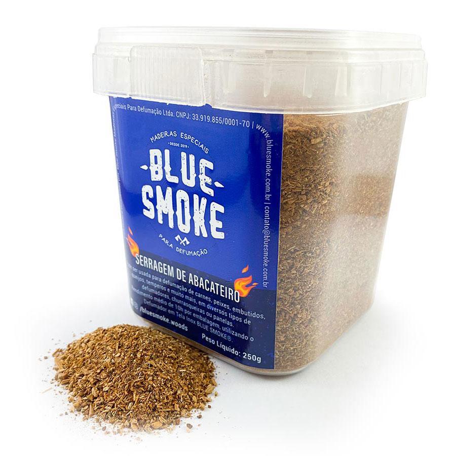 Blue Smoke - Serragem Abacateiro Defumação 250g