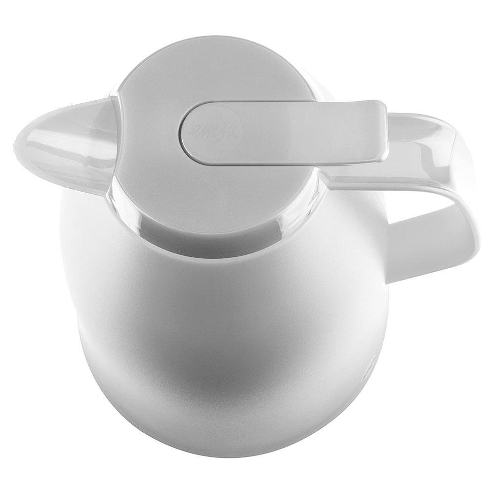 Garrafa Térmica Branca Mambo Quick Tip 1L - Emsa