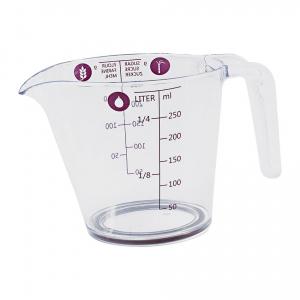 Jarra Medidora Plástico 250 ml - Brinox