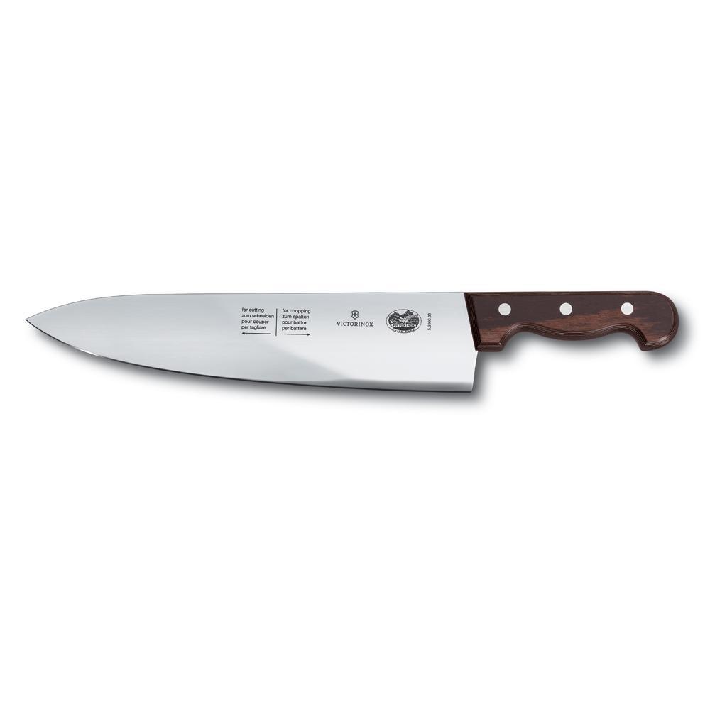 Faca Chef Cabo Madeira Rosewood 800 g 33 cm 5.3900.33 - Victorinox