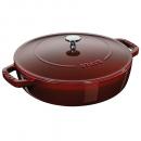 Staub França - Pano de Cozinha Bege/Vermelho 70 x 50 cm