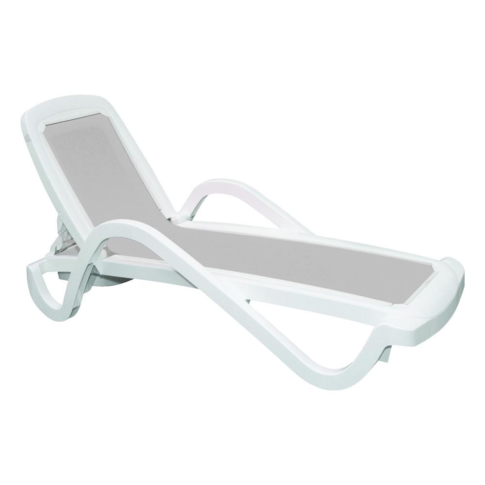 Cadeira Espreguiçadeira Cancún Cinza - Tramontina