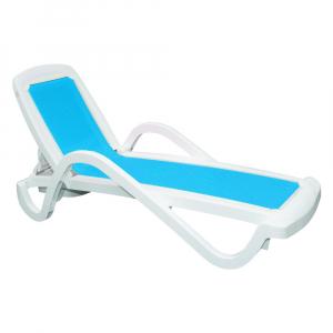 Cadeira Espreguiçadeira Cancún Turquesa - Tramontina