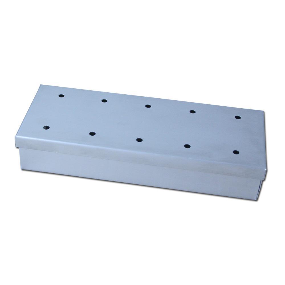 Caixa Defumadora (Smoke Box) p/ Lascas Madeira Aço Inox - Apolo