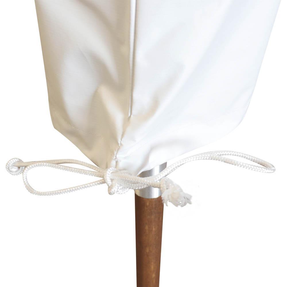Capa Protetora Branco p/ Ombrelone 2,3 m - Madesol