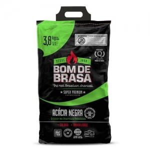 Carvão Parrilla Super Premium 3,8 Kg - Bom de Brasa