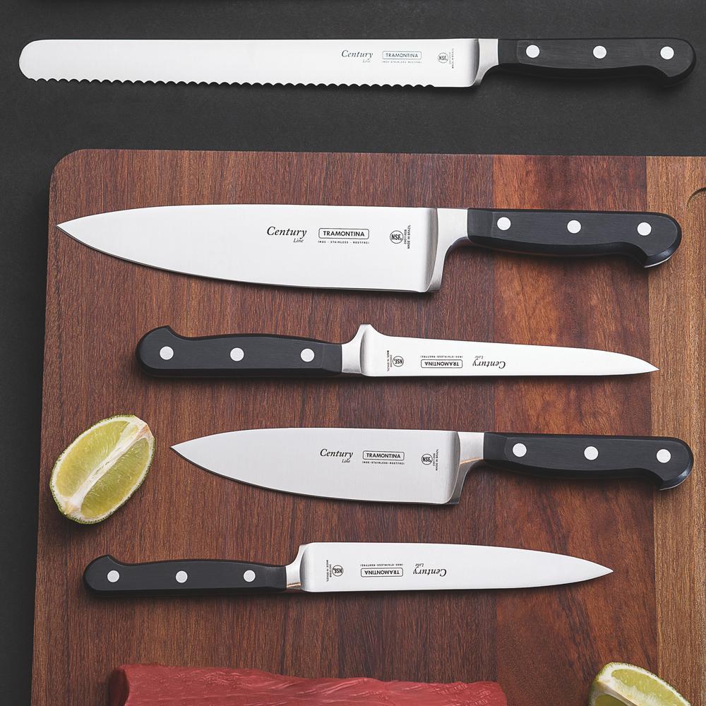 "Faca Chef Century 6"" - Tramontina"