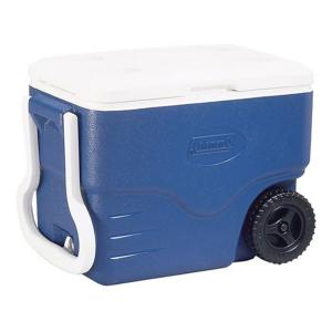 Caixa Térmica Azul c/ Rodas 38 Litros - Coleman