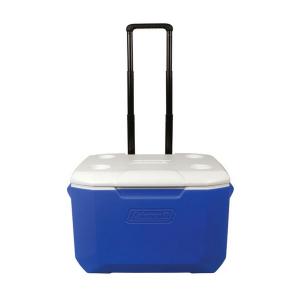 Caixa Térmica Azul c/ Rodas 57 Litros - Coleman