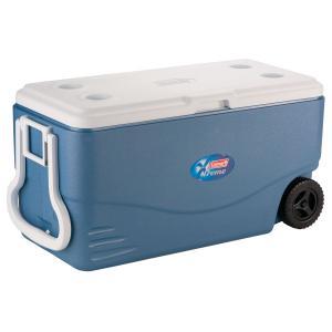 Caixa Térmica Azul c/ Rodas Xtreme 95 Litros - Coleman