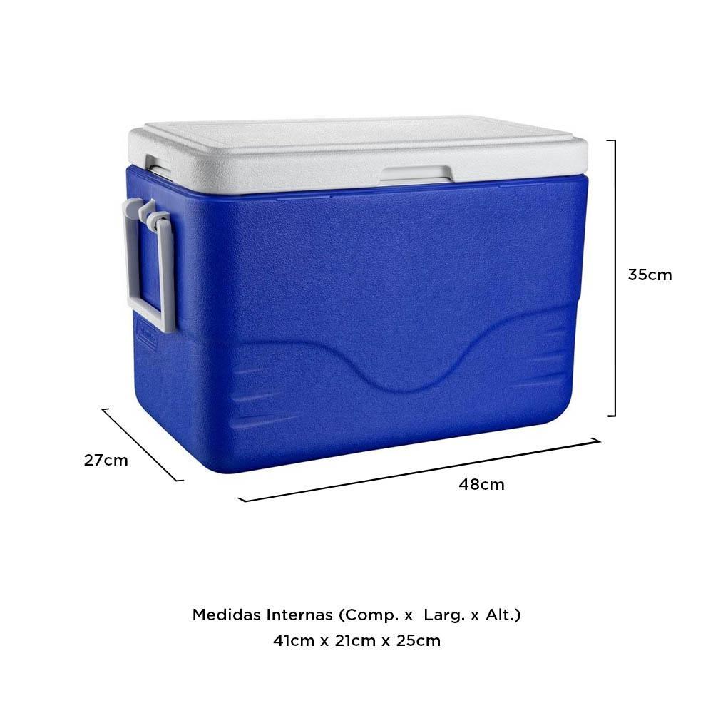 Coleman - Caixa Térmica Azul 26 Litros