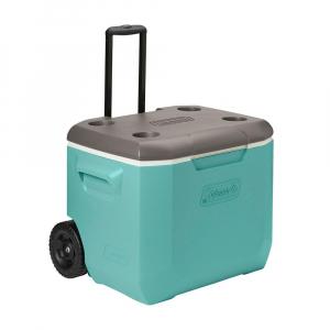 Caixa Térmica Verde Água c/ Rodas 57 Litros - Coleman