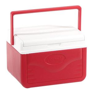 Coleman - Caixa Térmica Vermelha Alça Superior 5 Litros
