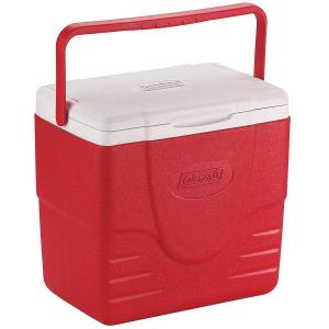 Coleman - Caixa Térmica Vermelha Alça Superior 15 Litros