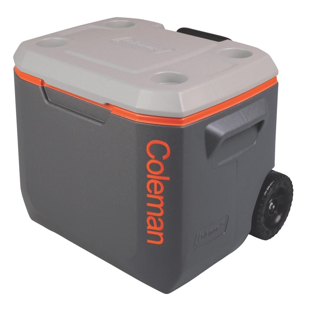 Caixa Térmica Xtreme c/ Rodas e Puxador Retrátil 47 Litros - Coleman