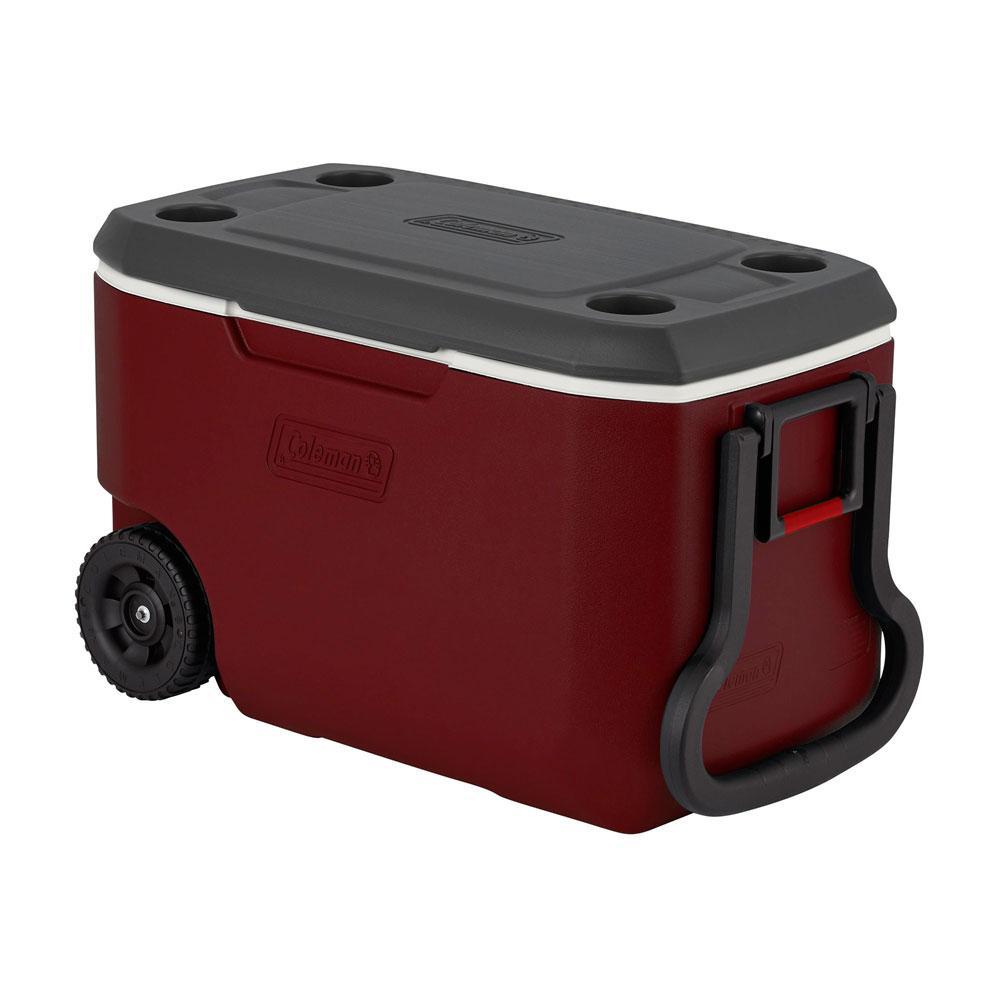 Caixa Térmica Xtreme com Rodas Vermelha 59 Litros - Coleman
