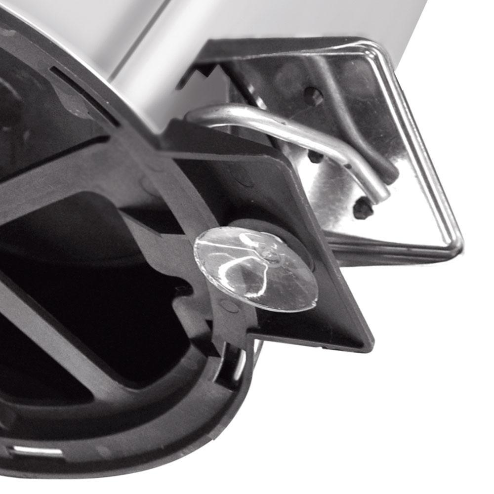 Lixeira c/ Pedal Aço Inox Brasil 20 Litros - Tramontina