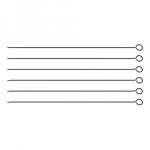 Conjunto de Espetinhos 40 cm Inox 6 Peças - Tramontina