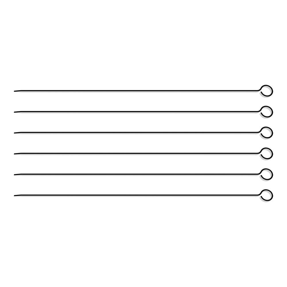 Conjunto de Espetinhos 30 cm Inox 6 Peças - Tramontina
