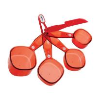 Conjunto Xícaras Medidoras Vermelho 4 Peças - Zyliss