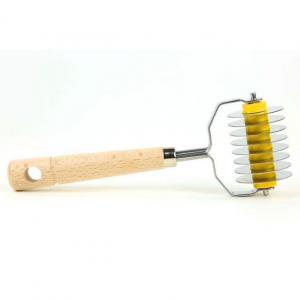 Carretilha Cortador Pasta Aço Inox 8 Lâminas - Eppicotispai