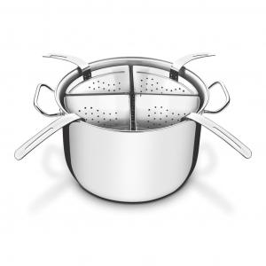 Cozi-Pasta Profissional Aço Inox 4 Recipientes Ø30 cm - Tramontina