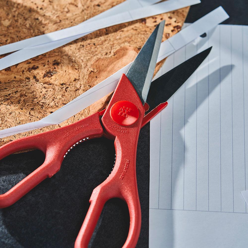 Tesoura Cozinha Multiuso Vermelha 20 cm - Zwilling