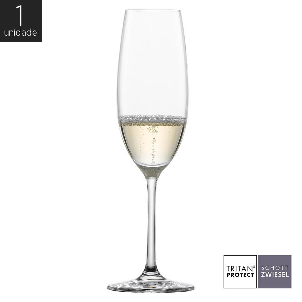 Taça Cristal Cristal (Titânio) Champagne Ivento 228ml - Schott Zwiesel