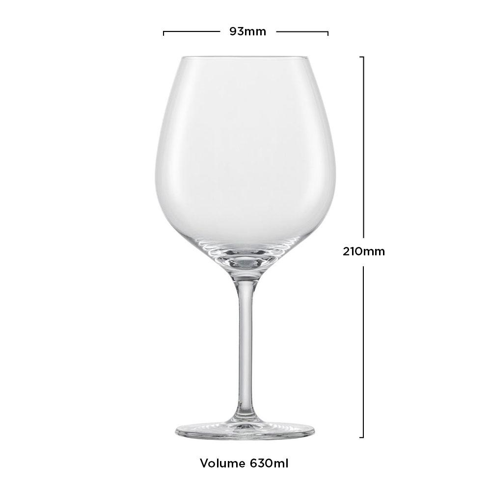 Taça Cristal (Titânio) Borgonha Banquet 630ml - Schott Zwiesel - 1 unidade